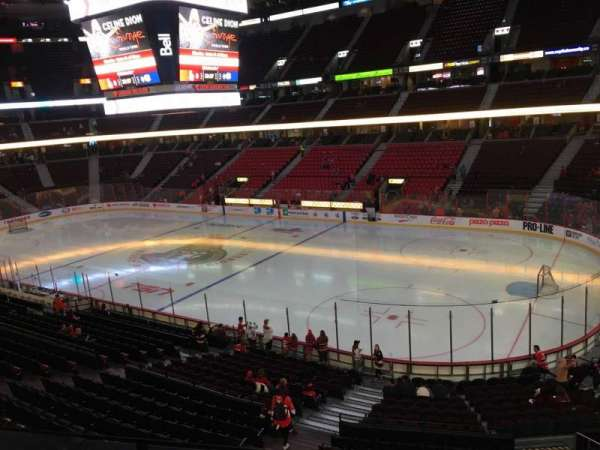 Canadian Tire Centre, section: 219, row: C, seat: 8
