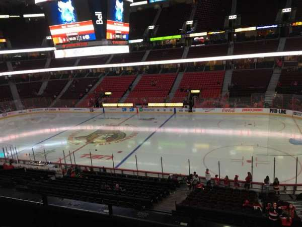 Canadian Tire Centre, section: 220, row: D, seat: 10