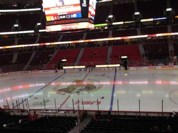 Canadian Tire Centre, section: 221, row: A, seat: 12