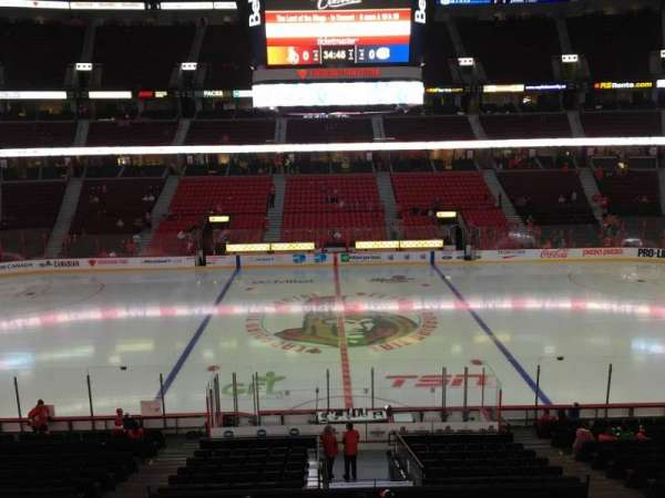 Canadian Tire Centre, section: 222, row: B, seat: 11