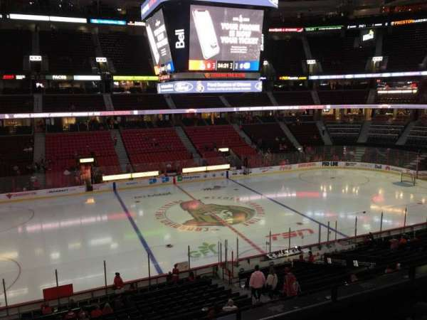 Canadian Tire Centre, section: 223, row: D, seat: 13