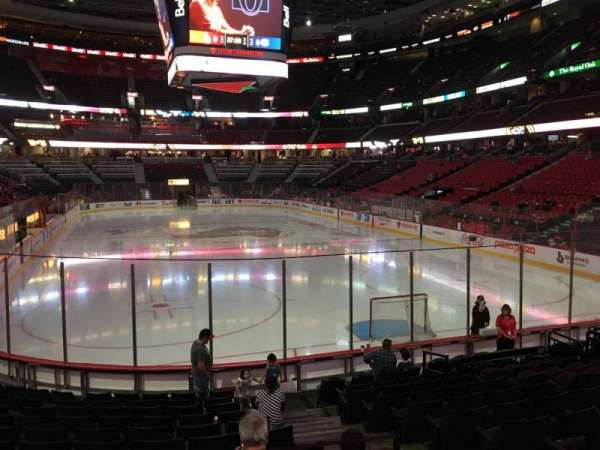Canadian Tire Centre, section: 102, row: M, seat: 4