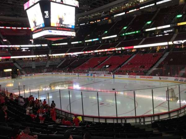 Canadian Tire Centre, section: 103, row: P, seat: 7