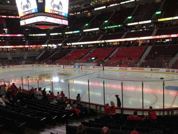 Canadian Tire Centre, section: 103, row: N, seat: 17