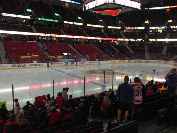Canadian Tire Centre, section: 108, row: L, seat: 6