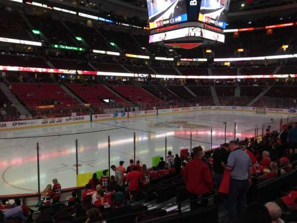Canadian Tire Centre, section: 109, row: N, seat: 8