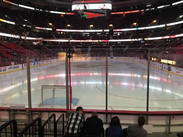 Canadian Tire Centre, section: 111, row: G, seat: 3
