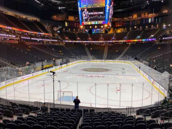T-Mobile Arena, section: 11, row: N, seat: 10