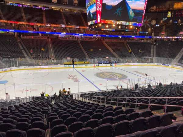 T-Mobile Arena, section: 14, row: V, seat: 13
