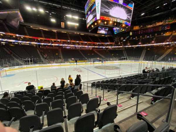 T-Mobile Arena, section: 14, row: E, seat: 10
