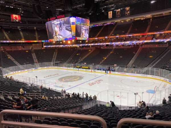 T-Mobile Arena, section: 18, row: Wc, seat: 9