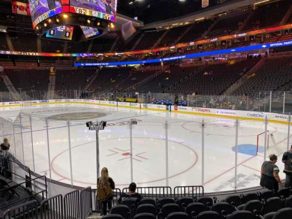 T-Mobile Arena, section: 19, row: H, seat: 3