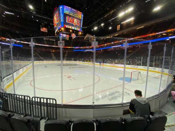 T-Mobile Arena, section: 19, row: C, seat: 7