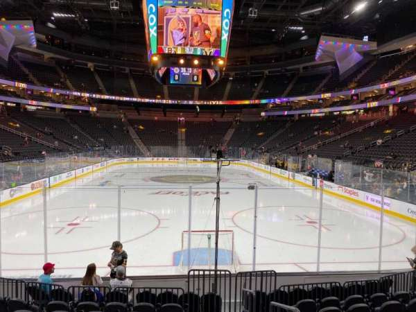 T-Mobile Arena, section: 20, row: H, seat: 14
