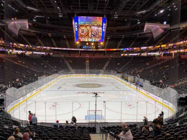 T-Mobile Arena, section: 20, row: R, seat: 20