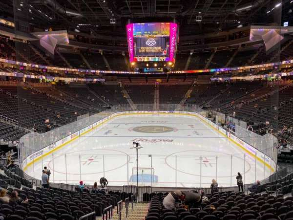 T-Mobile Arena, section: 1, row: S, seat: 2