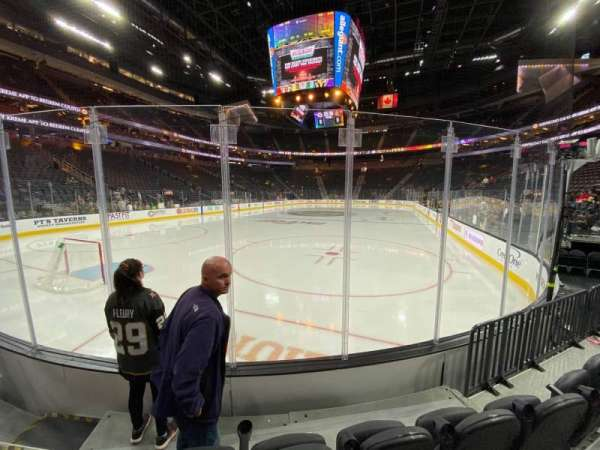T-Mobile Arena, section: 2, row: C, seat: 2