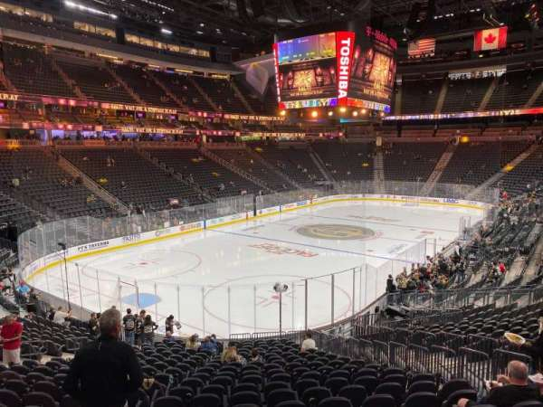 T-Mobile Arena, section: 2, row: V, seat: 16