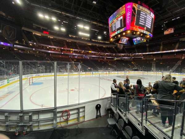 T-Mobile Arena, section: 3, row: C, seat: 9