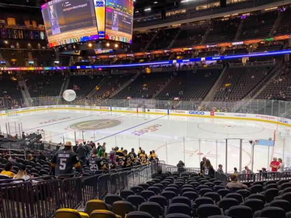 T-Mobile Arena, section: 8, row: R, seat: 5
