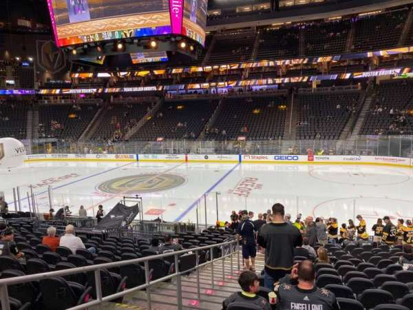 T-Mobile Arena, section: 7, row: P, seat: 2