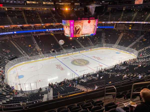 T-Mobile Arena, section: 202, row: G, seat: 12