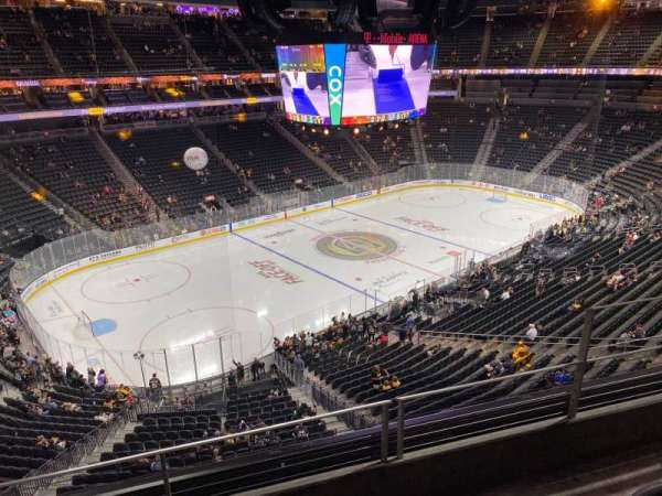 T-Mobile Arena, section: 201, row: C, seat: 4