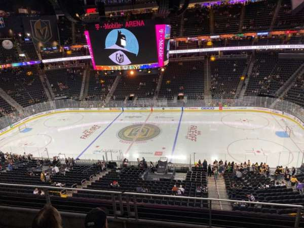 T-Mobile Arena, section: 206, row: C, seat: 14