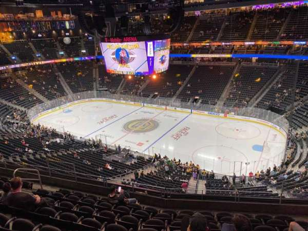 T-Mobile Arena, section: 208, row: H, seat: 12