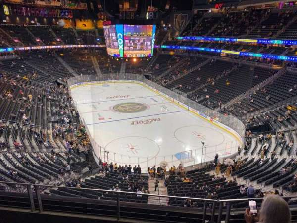 T-Mobile Arena, section: 212, row: C, seat: 6