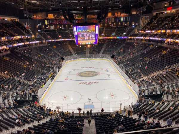 T-Mobile Arena, section: 214, row: B, seat: 8