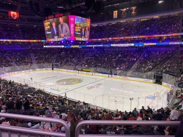T-Mobile Arena, section: 18, row: Wc, seat: 10