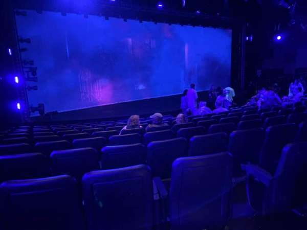 Blue Man Group Theater, section: 201, row: Aa, seat: 8