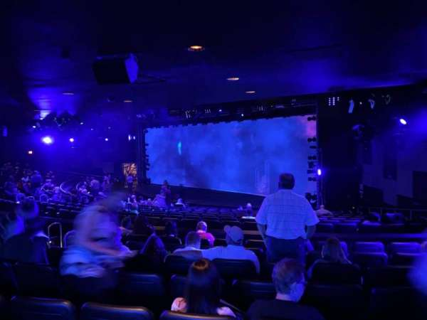 Blue Man Group Theater, section: 204, row: Hh, seat: 61