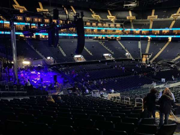 Chase Center, section: 118, row: 19, seat: 8