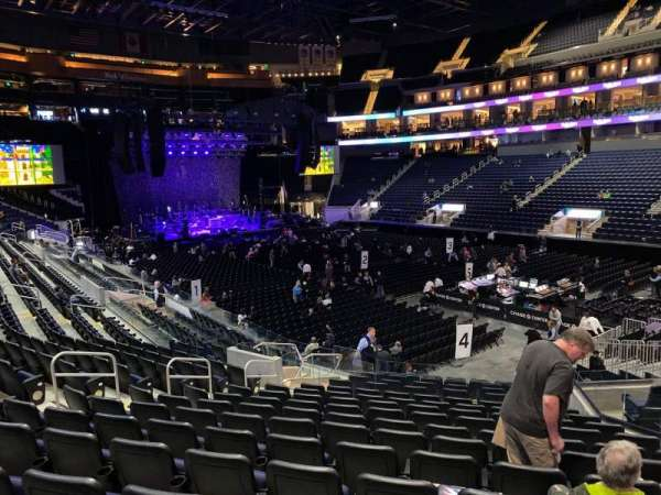 Chase Center, section: 113, row: 12, seat: 4