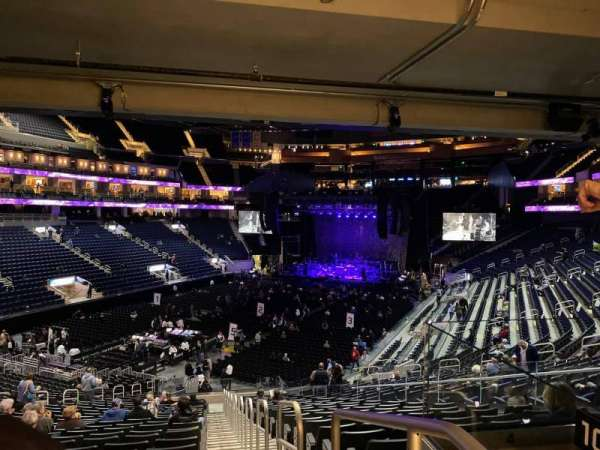 Chase Center, section: 108, row: 27, seat: 1