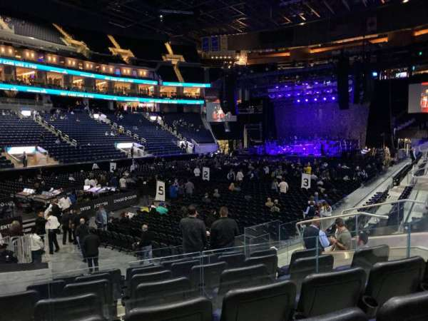 Chase Center, section: 106, row: 4, seat: 8