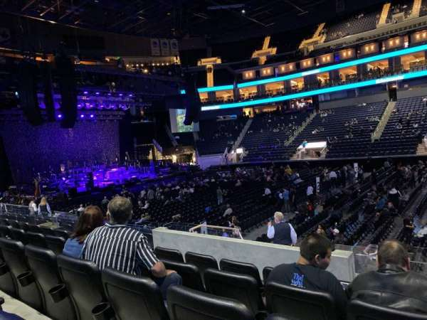 Chase Center, section: 115, row: 5, seat: 3