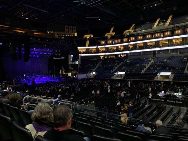 Chase Center, section: 114, row: 8, seat: 7