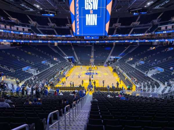 Chase Center, section: 121, row: 26, seat: 24
