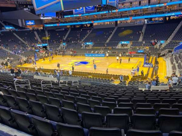 Chase Center, section: 114, row: 14, seat: 6