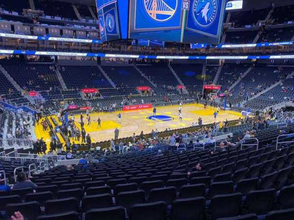 Chase Center, section: 117, row: 17, seat: 15