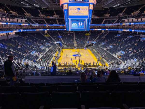 Chase Center, section: 127, row: 10, seat: 17