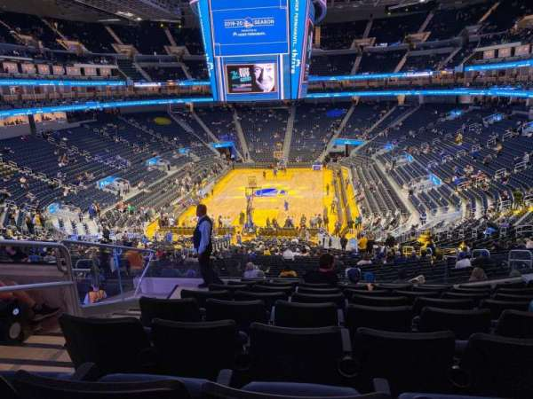 Chase Center, section: 126, row: 9, seat: 16