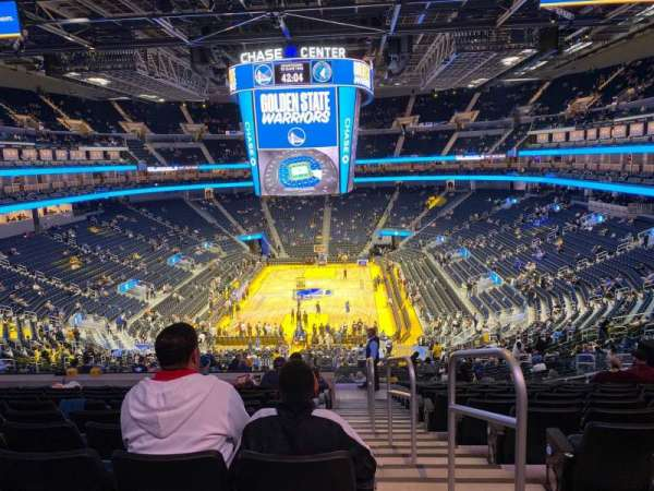 Chase Center, section: 127, row: 15, seat: 1
