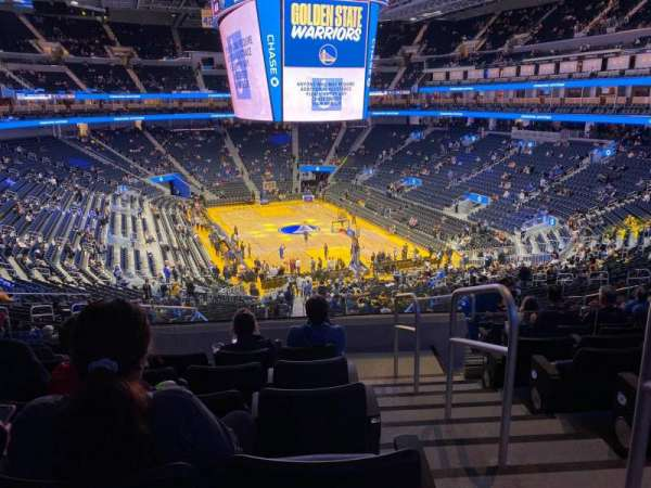 Chase Center, section: 129, row: 11, seat: 1