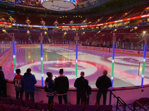 Rogers Arena, section: 101, row: 6, seat: 110