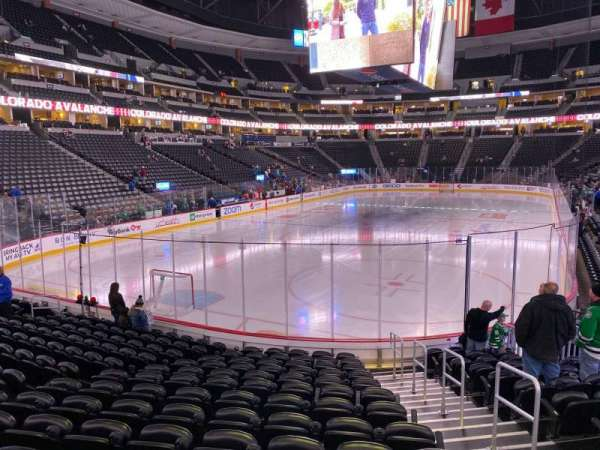 Pepsi Center, section: 134, row: 13, seat: 3