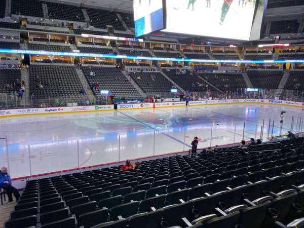 Pepsi Center, section: 128, row: 17, seat: 18